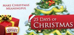 Winners everyday!  http://www.whitsend.org/FeaturesView/25-days-of-christmas.aspx?__utma=124421452.1112679960.1380126303.1385751769.1385831832.49&__utmb=124421452.4.10.1385831832&__utmc=124421452&__utmx=-&__utmz=124421452.1383338330.27.2.utmcsr=search.focusonthefamily.com|utmccn=(referral)|utmcmd=referral|utmcct=/search&__utmv=-&__utmk=254602248