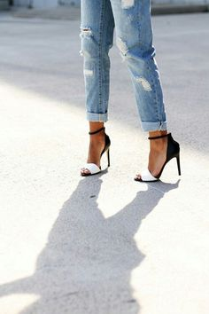 Fashion Style with sexy shoes #sexy #shoes #fashion #heels
