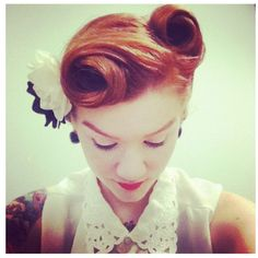 Love the Victory Rolls
