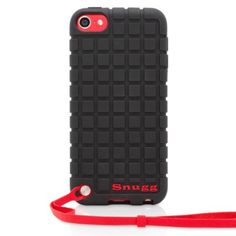 Snugg iPod Touch 5th Generation Silicone Rubber Black Case - Non-Slip Material, Protective and Soft to Touch for Apple iPod Touch 5 (5th Gen) ($14.99) Smooth rubbery texture for a comfortable grip Stylish squared pattern protection for the iPod Touch 5th Generation - Perfectly contoured skinny fit .Please note that the strap seen in the pictures comes with the iPod and not the case Camera hole cutout on the back Full access to all iPod Touch ports and connections