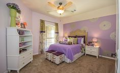 Lennar Bedroom in Lakes Of Savannah: Savannah Cove - Texas Reserve Collection