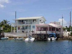 Captain Jack's restaurant, Hope Town, Elbow Cay, Abaco