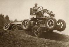 All terrain car, England, 1936 - via @dmullinnex