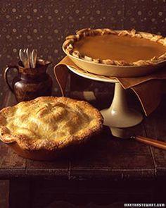 Old-Fashioned Apple Pie - Martha Stewart Recipes