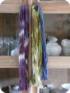 Sun Dyeing Yarn