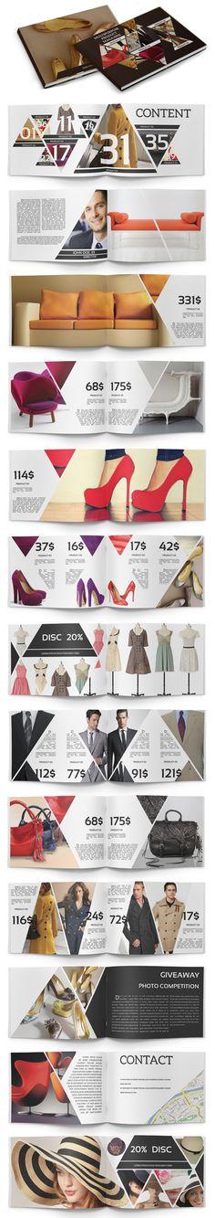 15 Creative Print Ready Business Brochure Designs | Design | Graphic Design Junction