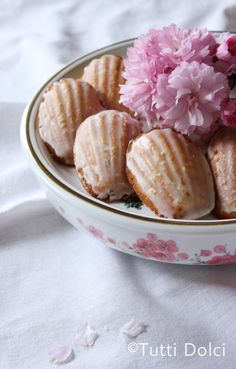 Meyer lemon madeleines