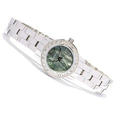 618-034 - Android Women's Venus Swarovski® Crystal Accented Quartz Stainless Steel Bracelet Watch