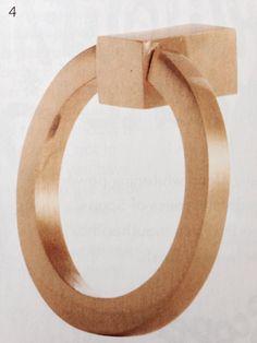 "Satin brass ring pull from lahardware.com 2"""