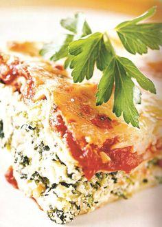 Eat clean lasagna