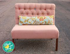 Birds and Soap, Soap and Birds: Diamond Tufted Dining Bench