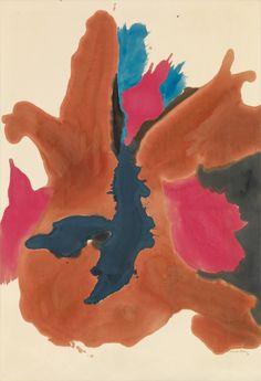 Helen Frankenthaler, at Gagosian
