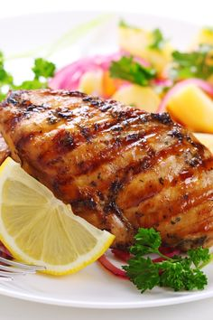 Grilled Jalapeno Chicken with Honey and Lime Recipe