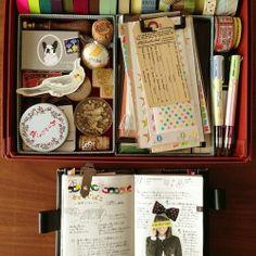 i love the stationery box