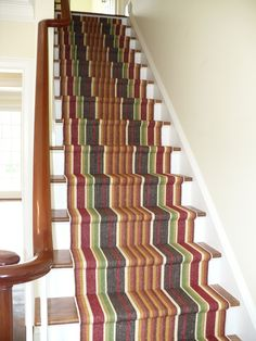 Stair carpet runners on pinterest stair runners stairs for Dash and albert runners