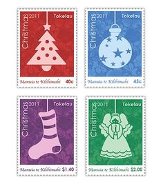 The Tokelau Christmas stamps 2011