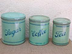 Vintage canister set