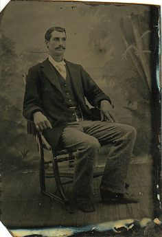 Seated Gentleman - Possible Post Mortem