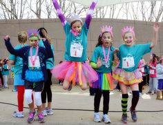 Girls on the Run Rule #7: Wearing fairy wings to a competitive track workout or a race makes you run faster and makes you cooler than anyone else on the planet. Period. Conversation over.