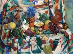 Henri Manguin - Exotic Still Life, Grapefruit