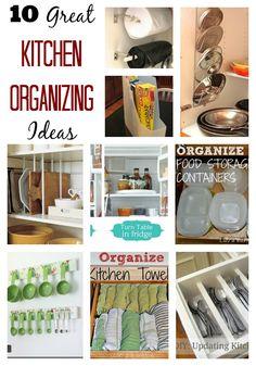 10 Great Kitchen Organizing Ideas! LuvaBargain.com