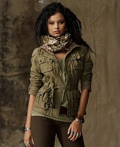 Cute allralph lauren, casual style, fashion, color schemes, earth tones, fall looks, military style, jackets, blazers