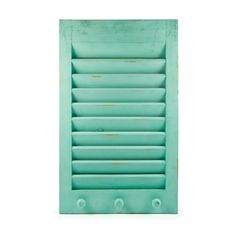 We R Memory Keepers - Shutter Memo Holder - Aqua at Scrapbook.com- displays cards, photos, notes and more! (other colors available)