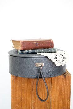 Vintage Hat Box Suitcase
