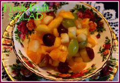 Sweet Tea and Cornbread: Fresh Fruit Salad!