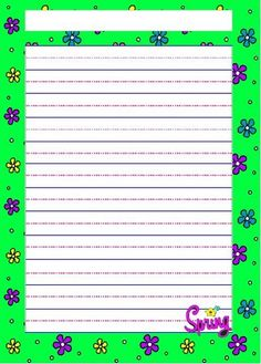 Spring - themed Writing Paper - 17 designs and 2 levels! :) #homeschooling #teach #writing