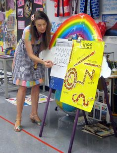 Cassie Stephens: In the Art Room: A Unit on Line for Kindergarten