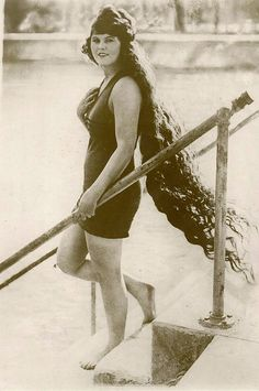 Jeanette Harding in Palm Beach, Florida 1920s