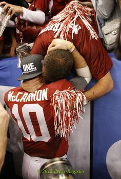 LOVE. THIS. !!!!!  2011 Champions, Father and Son :-)