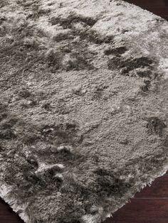 Jasper Light Grey Hand-Woven Shag  RugHome #Rugs