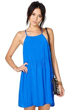 Nasty Gal Lagoon Dress, $58.00
