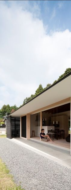 'doughnut house' by naoi architecture & design office in ibaraki prefecture, japan