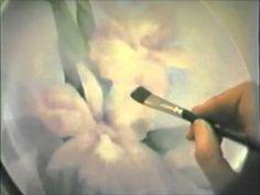 China Painting Tutorial - Orchids - Barbara Duncan