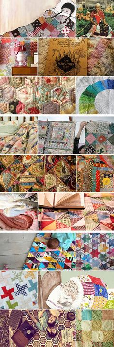 1930's feedsack quilts...
