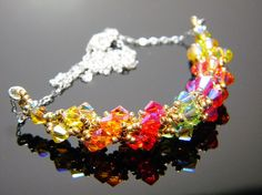 """""""Lady of Light and Life"""" Titania Dresden Files Inspired Swarovski Crystal Necklace by WhimsyBeading, $35.00"""
