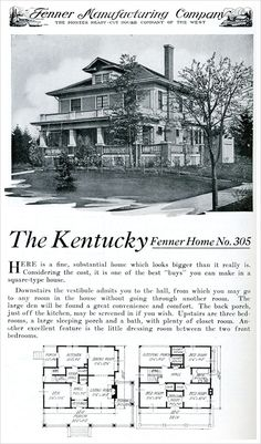 I Love The American Foursquare On Pinterest Kit Homes