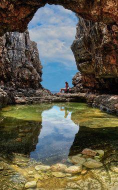 Island of Lokrum, Croatia
