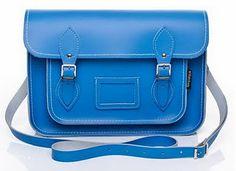 Baby blue satchel