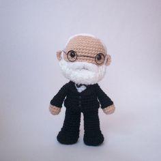 toy, kawaii crochet, drsigmund, crochet doll, crochet diy, crochet idea, amigurumi de, sigmund freud