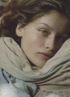 French model, Laetitia Casta beautiful!