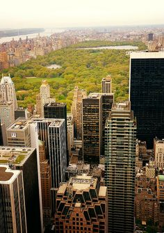 New York City Skyline, View from Top of the Rock, New York City - 012