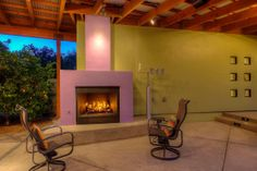 A lovely fireplace. Paradise Valley, AZ Coldwell Banker Residential Brokerage
