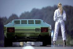 1974 Lamborghini Bravo by Marcello Gandini at Bertone.
