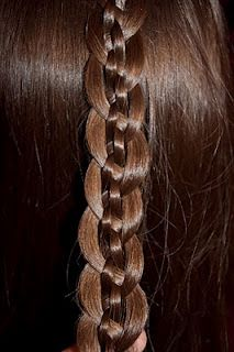 5-Strand Braid - I figured out how to do the basic 5-strand braid! And with just a little pulling in the right places, you can have a really cool new look!