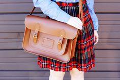 Mad about plaid! #backtoschool #fashion
