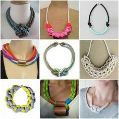 Collares de Lazo-cuerdas / Rope Necklaces